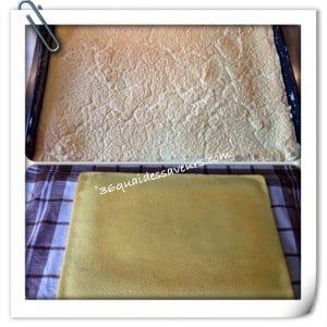 Roulé au saumon et fromage