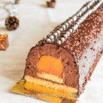 buche chocolat clementine