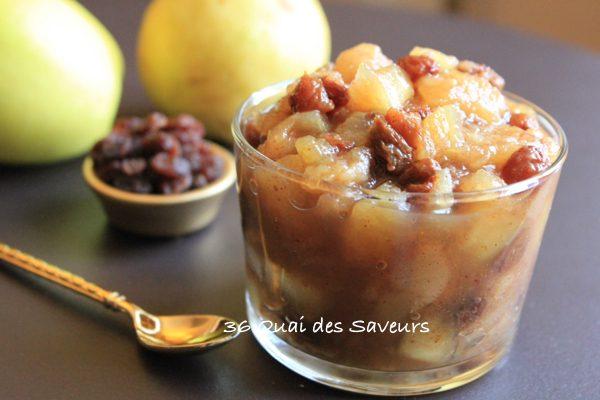 chutney-pommes-poires-raisins