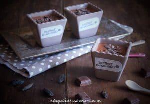 Crème au chocolat et à la fève tonka