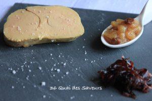 foie gras cuit sel parfumé