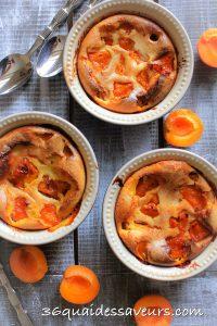 gratin d'abricots à la crème d'amandes