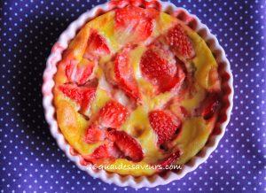 gratin de fraises