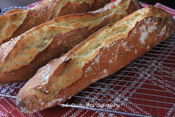 pain baguette sans petrissage magique3
