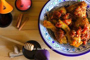 tajine de poulet tomates miel