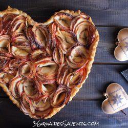 tarte aux pommes facon bouquet de roses....ou fleurs de champs