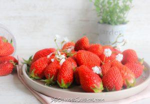 Des fraises pour le dessert