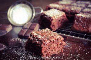 Gâteau aux courgettes et au chocolat (sans beurre)
